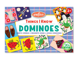 eeBoo Things I Know Little Dominoes