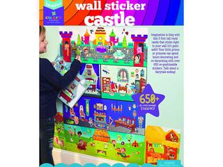 Craft-Tastic Wall Sticker Castle