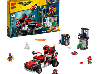 LEGO The Batman Movie Harley Quinn Cannonball Attack