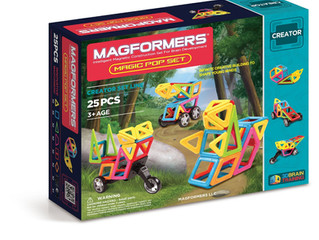 Magformers Creator Magic Pop Set (25-pieces)