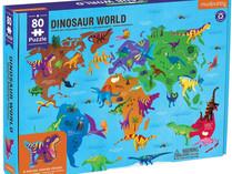 Mudpuppy Dinosaur World 80-Piece Puzzle