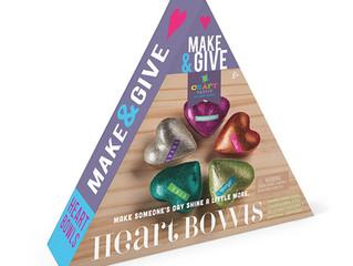 Ann Williams Craft-tastic Make & Give Heart Bowls