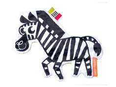 Manhattan Toy Wimmer-Ferguson Crinkle Zebra Baby Sensory Toy