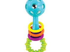 Sassy Peek a Boo Beads Rattle