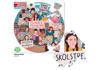 eeBoo Climate March Puzzles