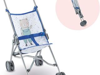 Corolle Blue Umbrella Stroller