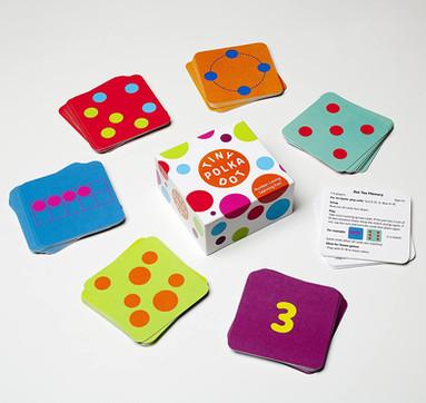 Math for Love Tiny Polka Dot Game