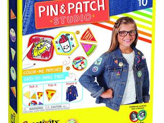 Creativity for Kids Pin & Patch Studio