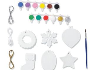 Paint Your Own Porcelain Christmas Ornaments