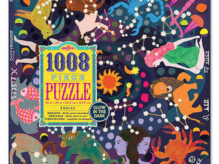 eeBoo 1008 piece Glow in the Dark Zodiac Puzzle