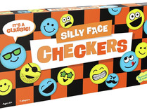 Peaceable Kingdom Silly Face Emoji Checkers