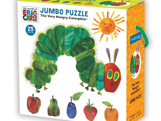 Mudpuppy Jumbo Puzzle The Very Hungry Caterpillar