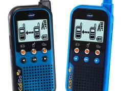 VTech KidiGo Walkie Talkies, Blue