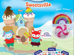 Creativity for Kids Sensory Sticker Playsets: Magical Undersea and Sweeetsville