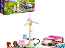 LEGO FRIENDS Olivia's Electric Car and  Heartlake City Organic Cafe