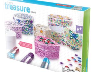 Serabeena Glittery Treasure Boxes