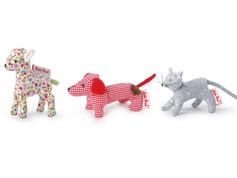 Kathe Kruse, Mini Grabbing Dog, Lamb, or Cat