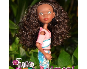 Tween Scene Kimani Prettie Girl Doll