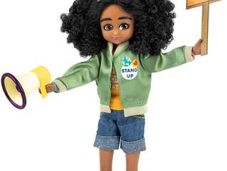 Lottie Kid Activist Doll & Inventor Engineer Doll