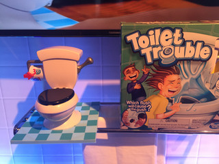 Do you really need a game that sprays  toilet water on the loser?