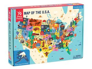 Mudpuppy Geography Puzzles