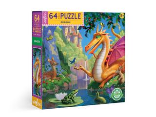 eeBoo Dragon Puzzle 64 Pieces & 1000 Pieces