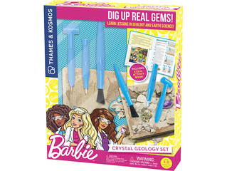 Thames & Kosmos Barbie Crystal Geology Set