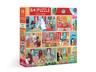 eeBoo Koala House 64 Pieces and 1000 Pieces