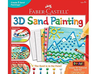 Faber and Castell Sand Painting