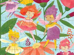 Mudpuppy Jumbo Puzzle Fairy Friends