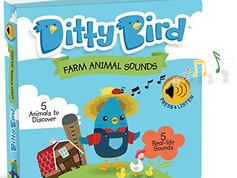 Ditty Bird Farm Animal Sound Book