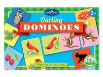 eeBoo Woodland Life Darling Dominoes