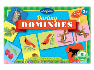 eeBoo Woodland Life Darling Dominoes
