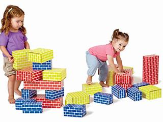 Edushape Corrugated Blocks