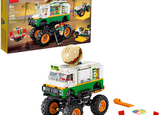 Lego Creator 3 in1 Monster Burger Truck