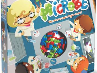 Blue Orange Dr. Microbe Game
