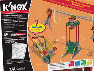 K'nex Levers and Pulleys Building Set