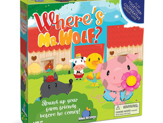 Blue Orange Where's Mr. Wolf Cooperative Game