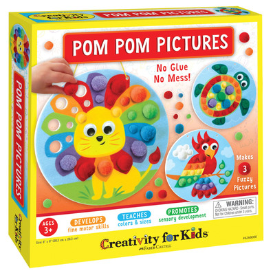 Creativity for Kids Pom Pom Pictures