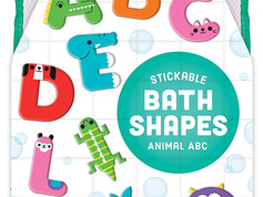 Mudpuppy Animal ABC Bath Shapes