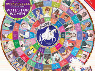 eeBoo Votes for Women Puzzle