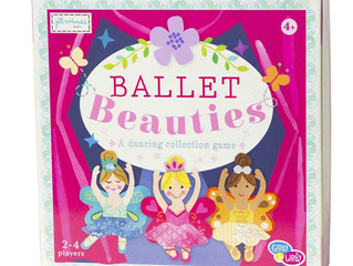 C. R. Gibson Ballet Beauties Board Game
