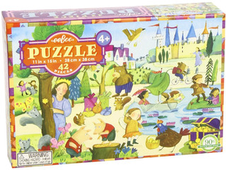 eeBoo Mystery in the Forest, 42 Piece Puzzles