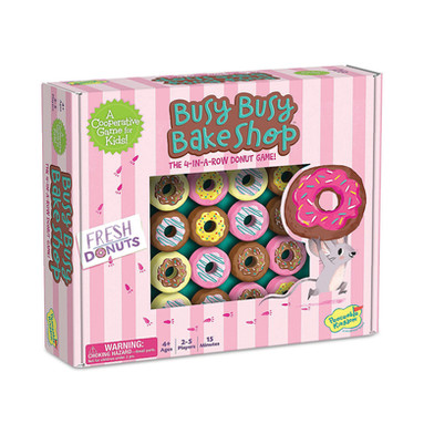 Peaceable Kingdom Busy Busy Bake Shop Game