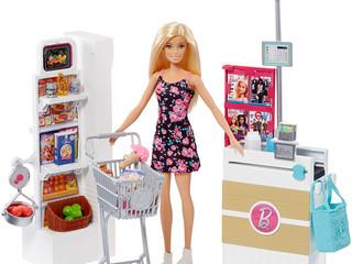 Mattel Barbie Supermarket Set