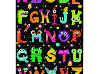 Janod Floor Puzzle ABC Monsters