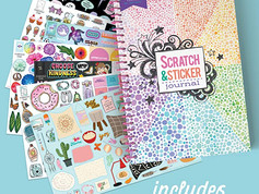 Craft-Tastic All About Me Scratch & Sticker Journal