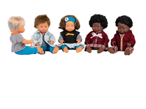 Miniland Multicultural Down Syndrome Dolls