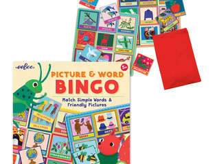 eeBoo Picture and Word Bingo English, French or Spanish