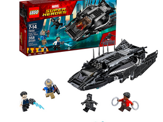 LEGO Marvel Super Heroes Black Panther Royal Talon Fighter Attack